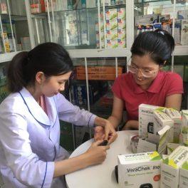 hướng dẫn sử dụng máy đo đường huyết
