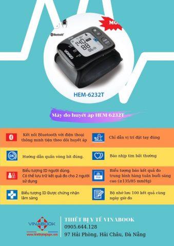 máy đo huyết áp Omron Đà Nẵng