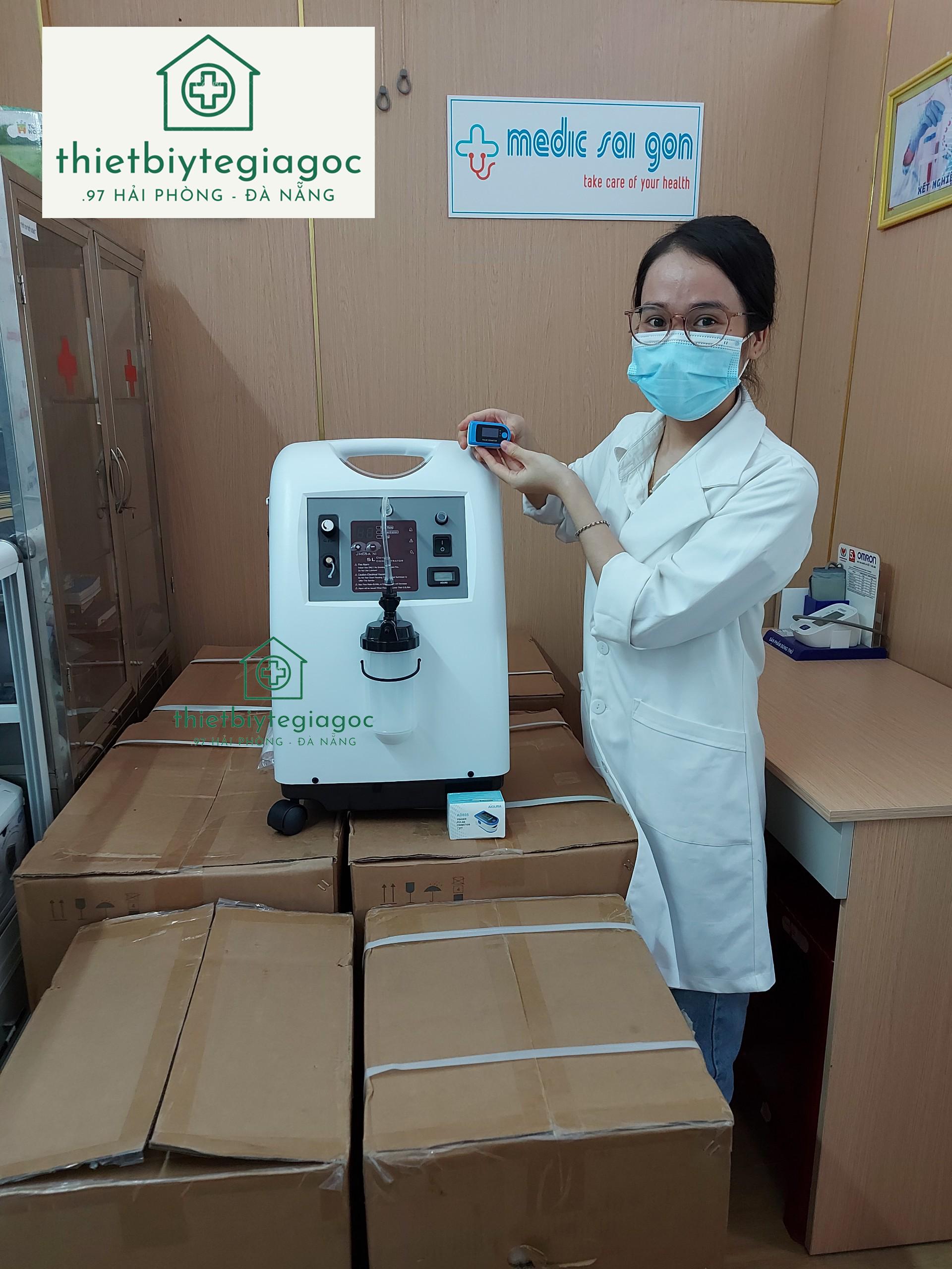 Máy tạo oxy MEDICAL PSA và máy đo spo2